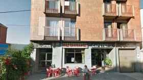 El exterior del 'Hotel El Carmen', uno de los locales en los que se perpetró uno de los 'simpas'.