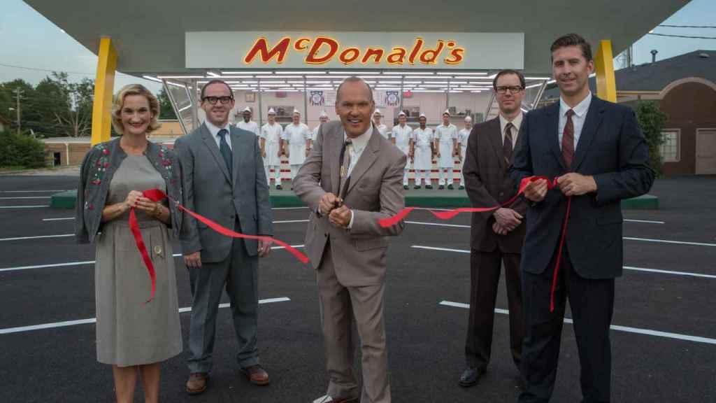 Michael Keaton da vida a Ray Kroc en El fundador.