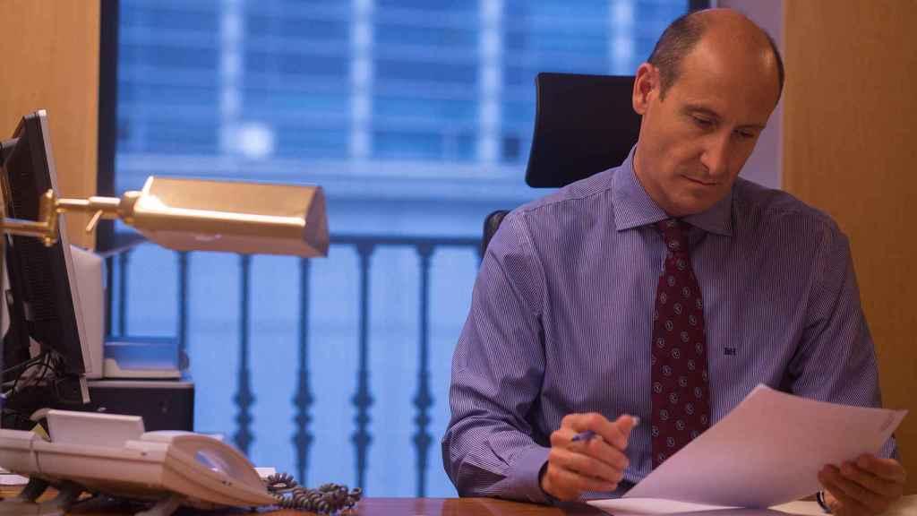 Sahuquillo, en su despacho.
