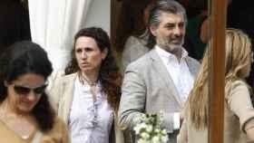 Yolanda García Cereceda y Jaime Ostos Jr, con quien se casó hace ya varios años.