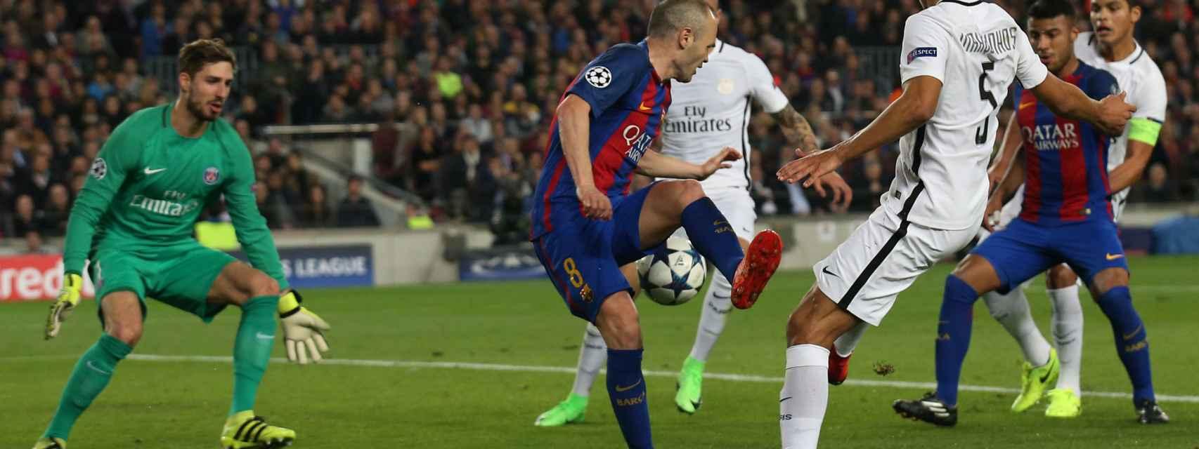 Barcelona - PSG, en directo