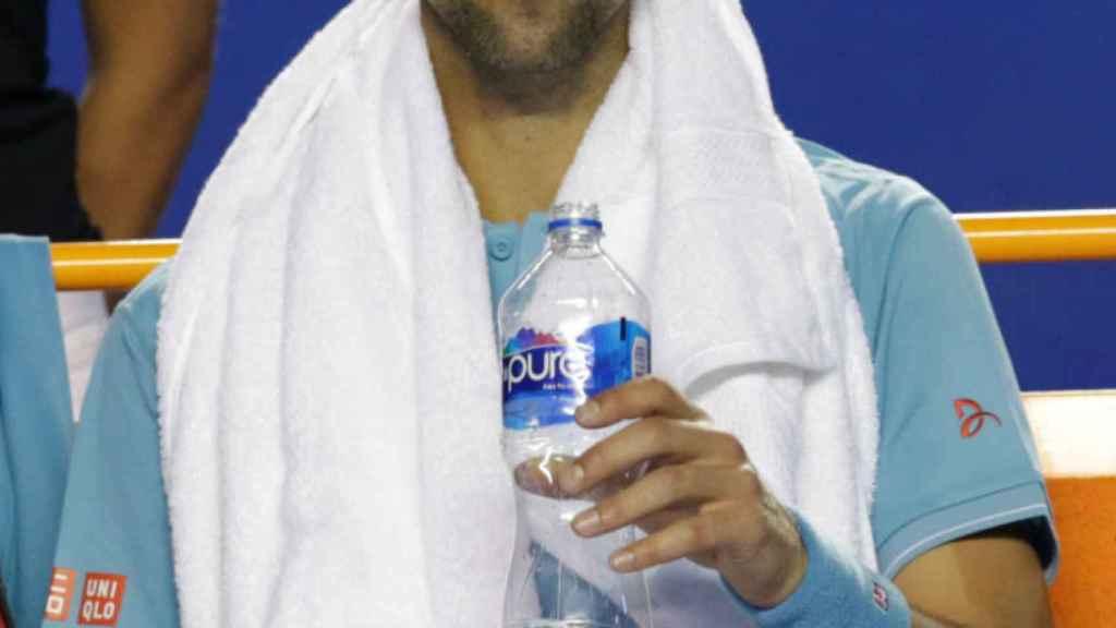 Novak Djokovic, durante el recientemente terminado torneo de Acapulco.