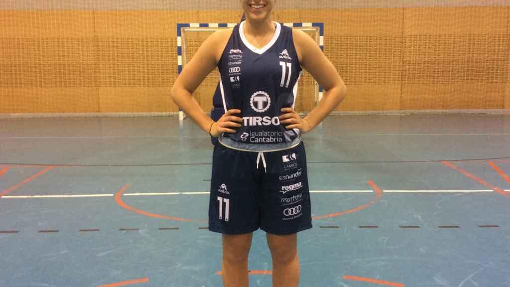 Lindsay Stockton posa para EL ESPAÑOL antes de un entrenamiento.