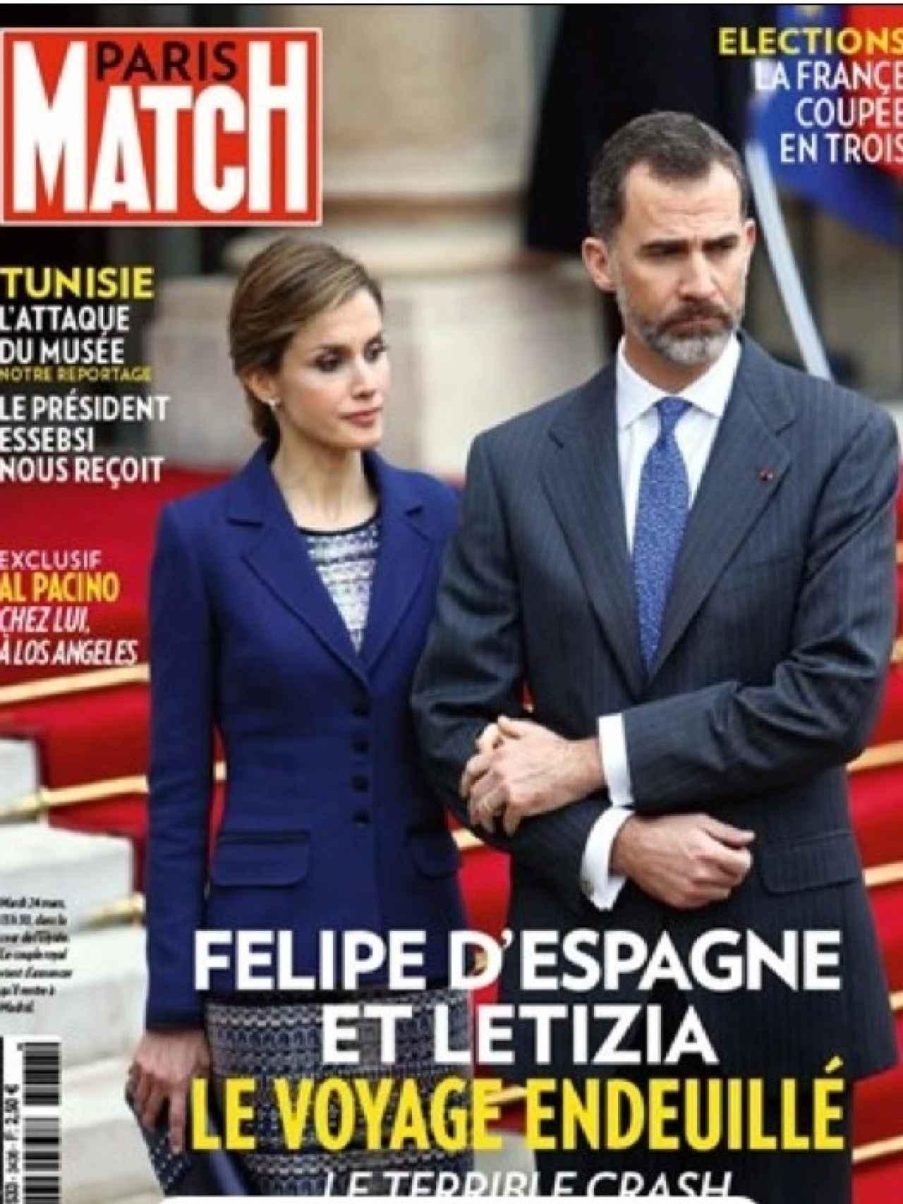 Los reyes llevaban tiempo sin ser portada de la revista. En la imagen, la de 2015.