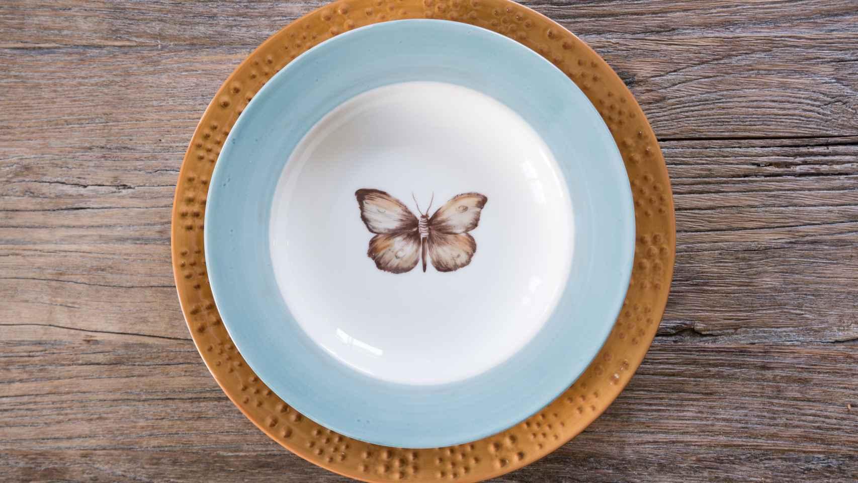 Vajillas de diseño: Los platos de Pan