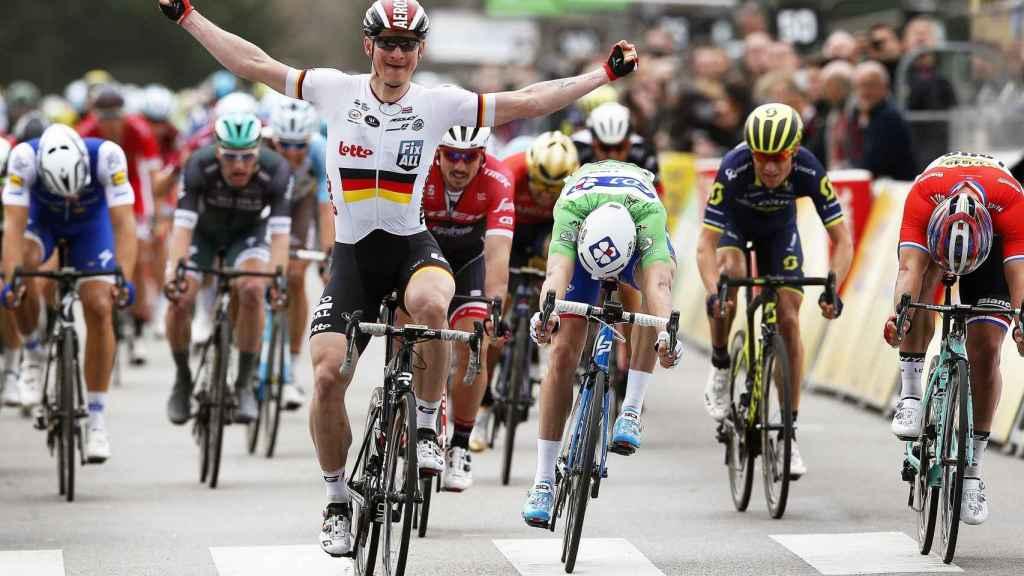 Greipel, vencedor de la quinta etapa de París-Niza.