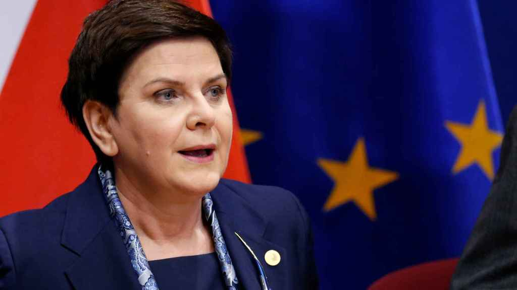 La primera ministra polaca no tiene miedo de quedarse aislada