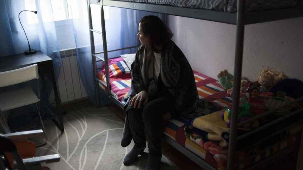 Samira, en el cuarto que ocupaba frente al de sus hermanos.