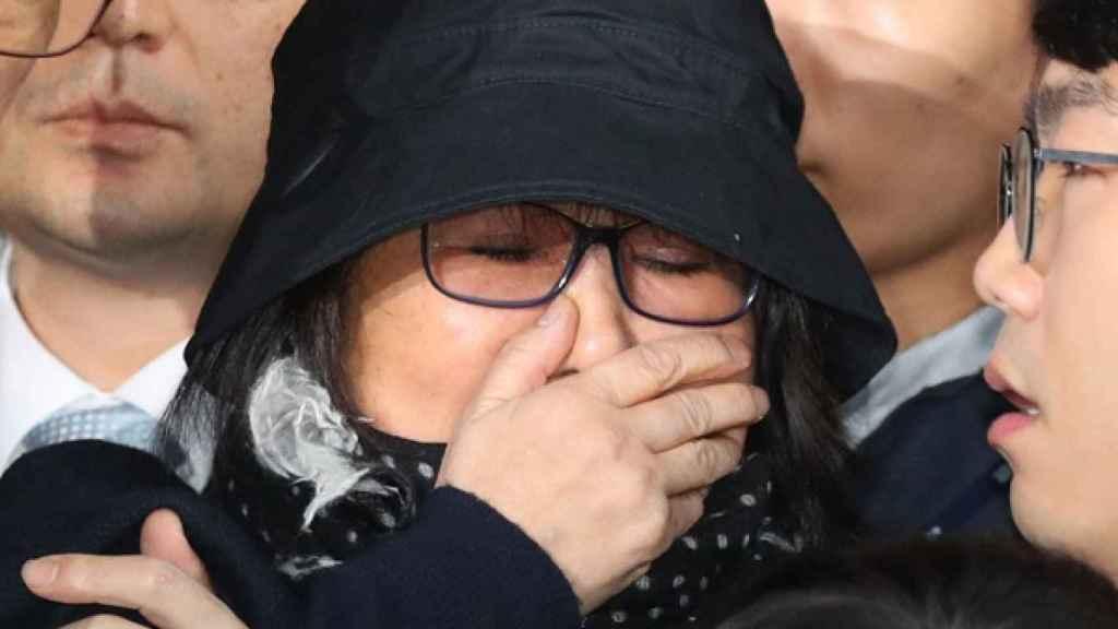 Choi Soon-Sil, en su vuelta a Corea.