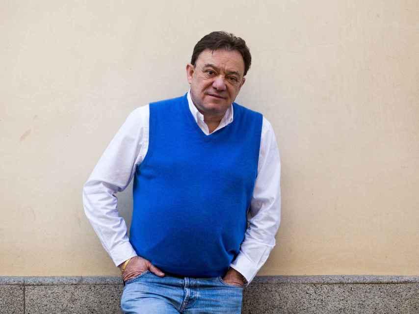 José Antonio Abellán en una céntrica calle de Madrid.