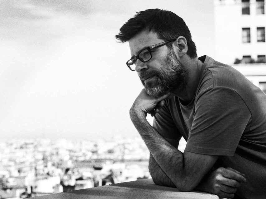 El humorista Héctor de Miguel, Quequé.