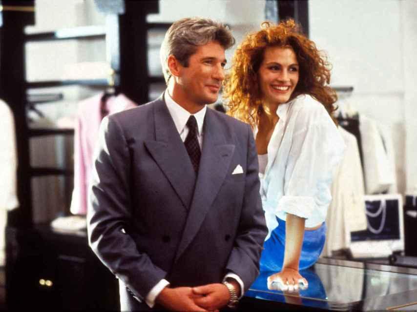 Richard Gere y Julia Roberts en Pretty Woman.