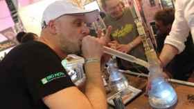 En Spannabis se venden artilugios para fumar marihuana y derivados sin necesidad de tabaco