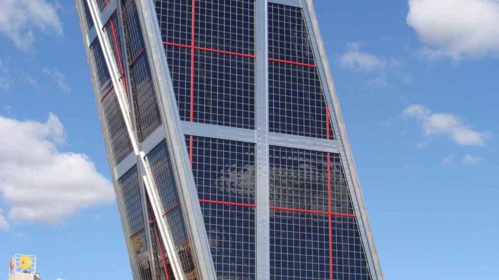 Las oficinas de Realia en las madrileñas Torres Kio.