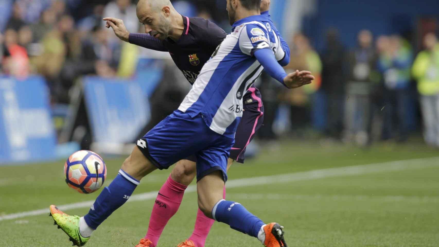 Las mejores imágenes del Deportivo - Barcelona