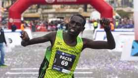 El atleta keniano Jonah Kipkemo.