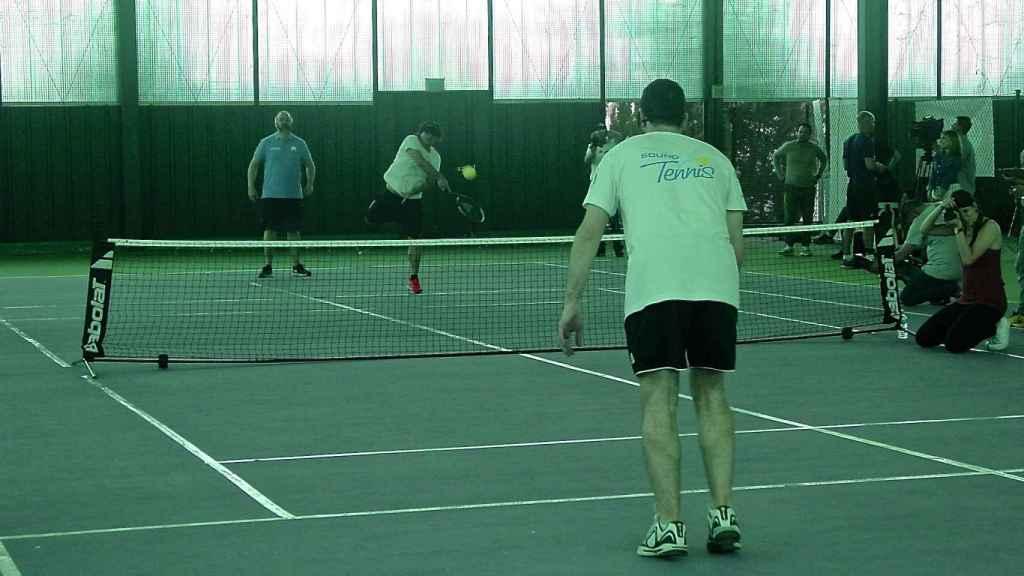 Partido de Blind Tennis.