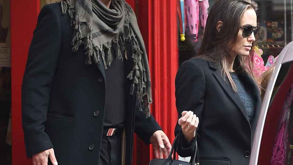 Angelina Jolie y Brad Pitt anunciaron su divorcio seis meses después del viaje.