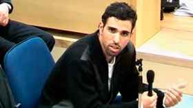 Jamal Zougam durante el juicio del 11-M.