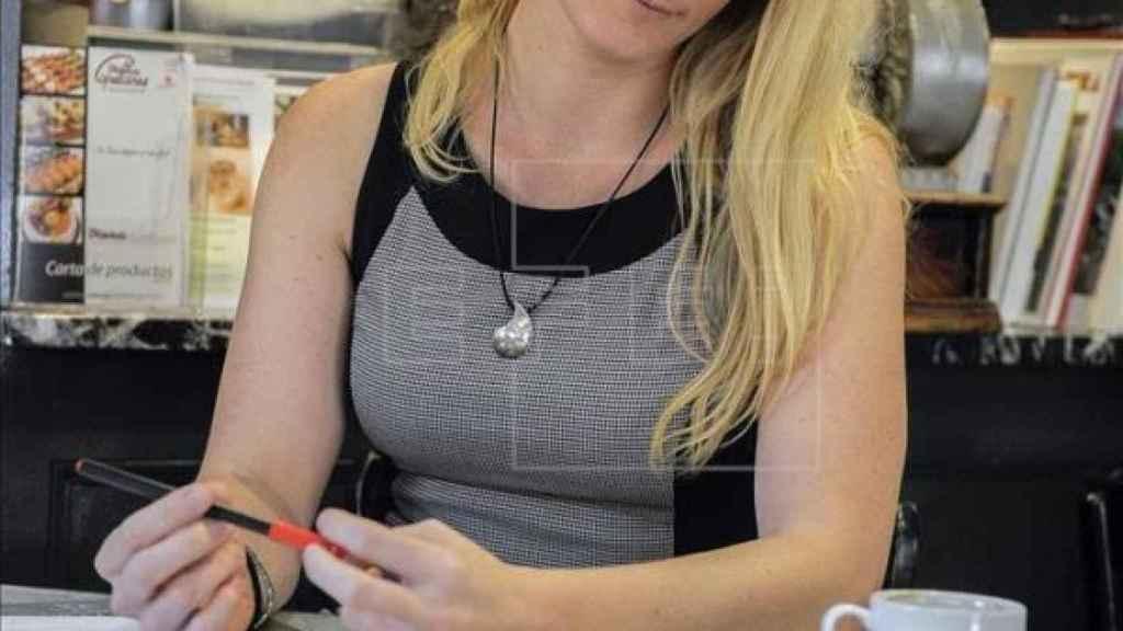 Zaida Cantera, en una imagen facilitada por el PSOE