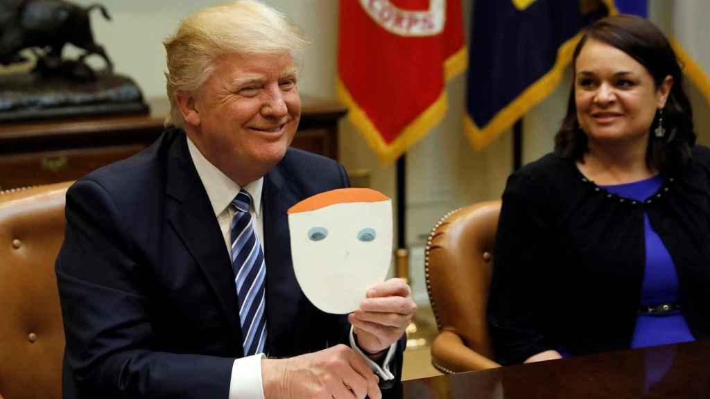 Trump, durante una reunión sobre cuidados de salud en la Casa Blanca.