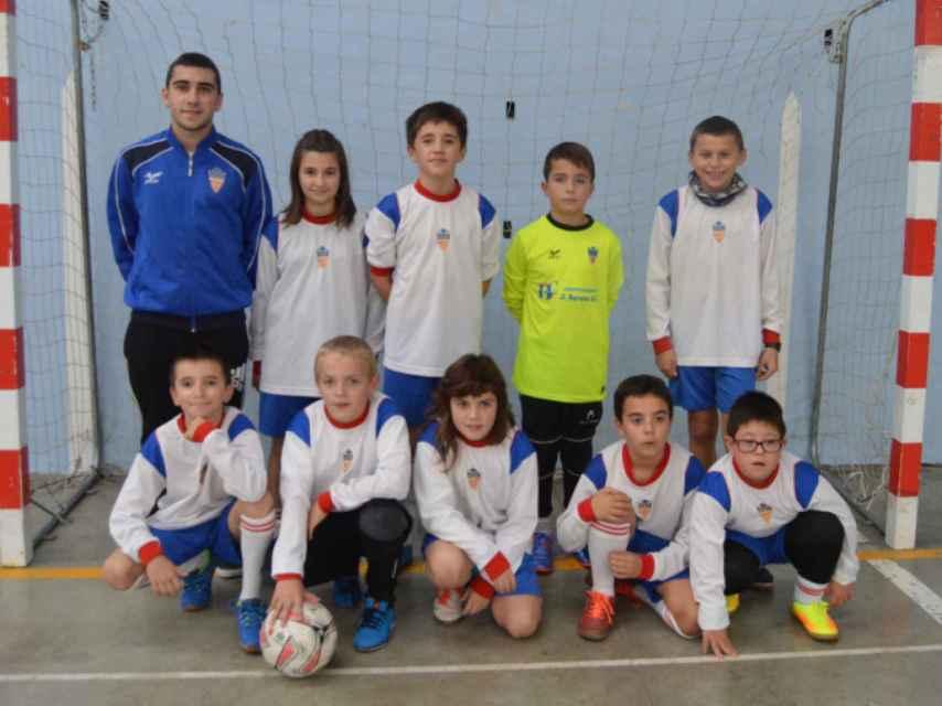 La plantilla del Ilumberri, el equipo de Santi.