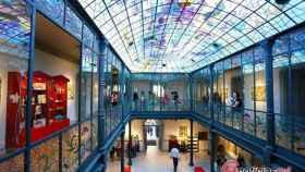 Visitantes en el Museo Casa Lis