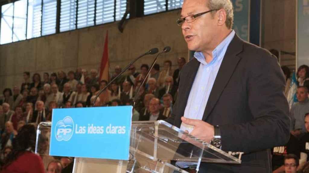 José Miguel Moreno Torres, durante un acto electoral en 2008.