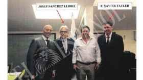 Josep Sánchez Llibre con el ex consejero delegado de Copisa, Xavier Tauler.