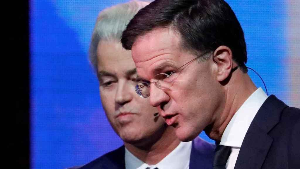 Wilders y Rutte se disputan el primer puesto en los comicios de este miércoles