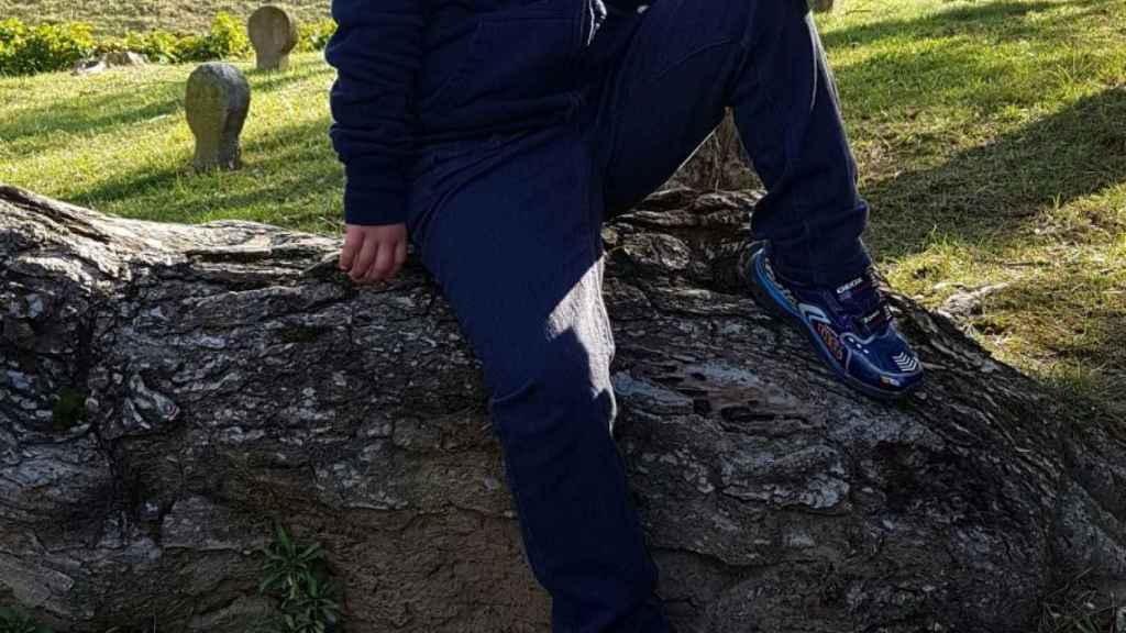 Santiago Alvarado vive en Lumbier (Navarra).