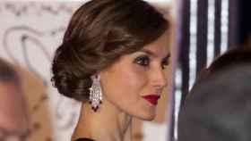 La reina Letizia, en el aniversario del diario Expansión en febrero.