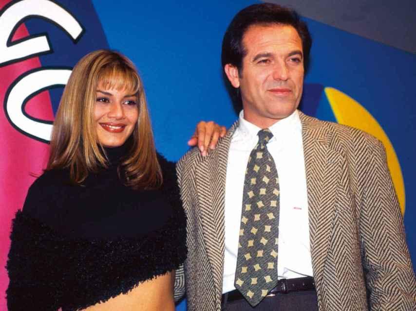 Ivonne Reyes y Pepe Navarro en El Juego de la Oca.
