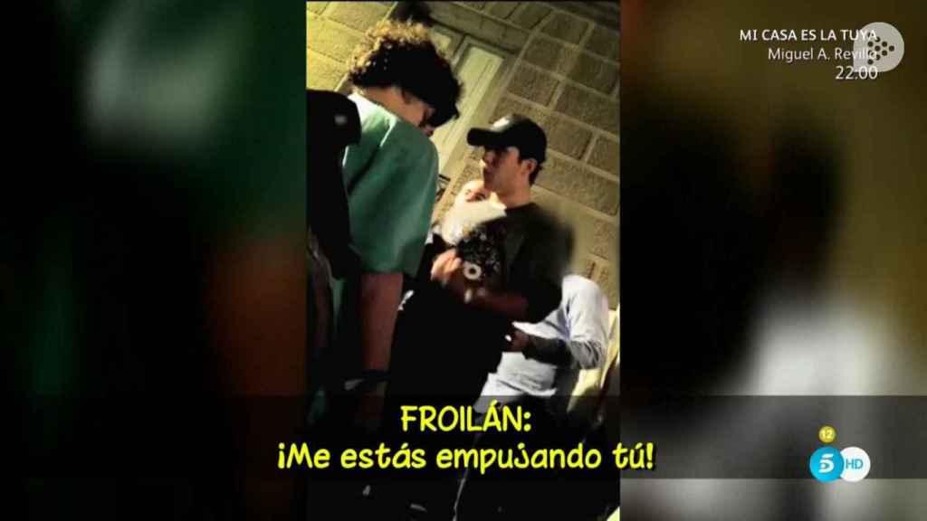 Froilán protagoniza un altercado a las puertas de una discoteca en Madrid