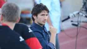 Gerard Nus, durante un partido.
