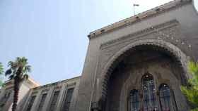 La fachada del Palacio de Justicia de Damasco.