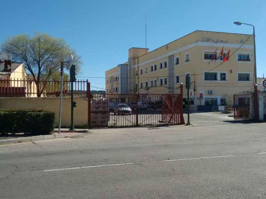 Las dependencias municipales del parque de servicios, el lugar de lo ocurrido.