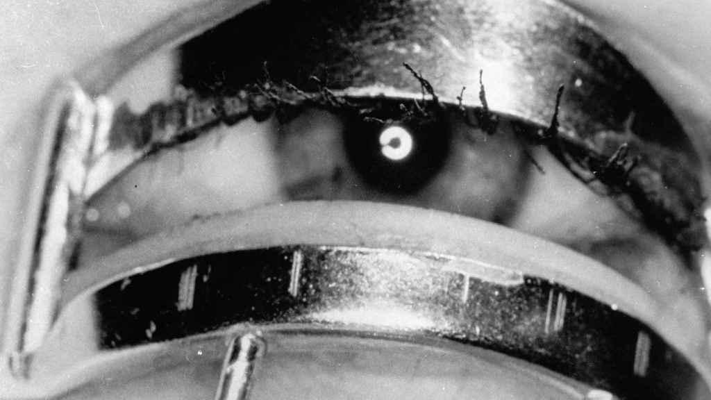 Un ojo de mujer.