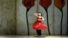 Corol·la, un solo de danza de 1992, de Angels Margarit, firmante de la carta.