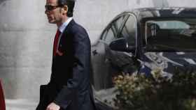 El inspector del Banco de España José Antonio Casaus.