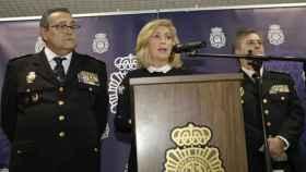 La Delegada del Gobierno en Madrid, Concepción Dancausa, tras las detenciones del pasado mes de enero