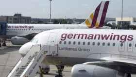 Un avión de Germanwings, en una imagen de archivo