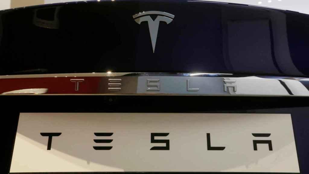 Logo de Tesla.
