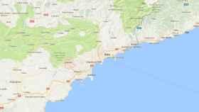 La ciudad de Grasse, en el sur de Francia (captura de Gmaps).