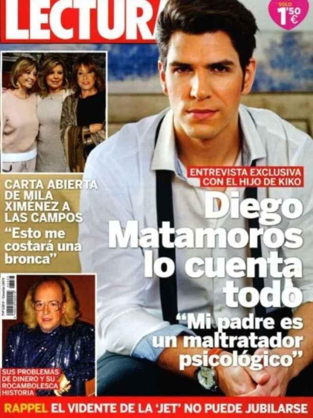 Entrevista de Diego Matamoros en Lecturas.