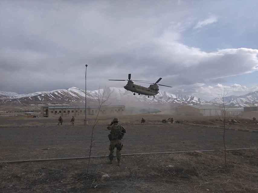 Base militar en la que están desplegados los soldados españoles.