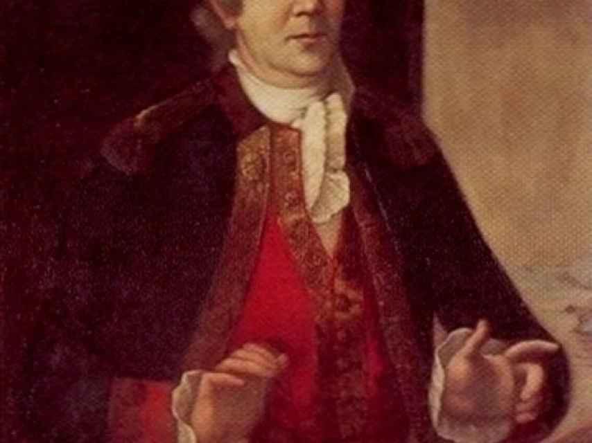 Esteban José Martínez, quien anexionó Nutka a la Corona española en 1789.