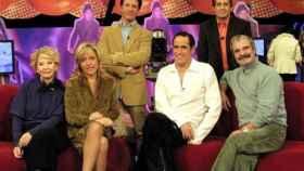 De izquierda a derecha, Karmele Marchante, Lydia Lozano, Antonio Sánchez Casado, Aurelio Manzano, Ximo Rovira y jesús Mariñas