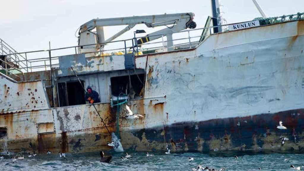 El barco Kunlun, relacionado con la actividad de los Vidal.