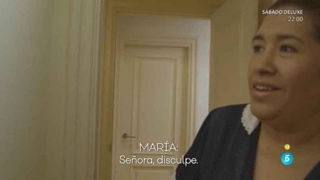 María, la asistenta de María Teresa Campos